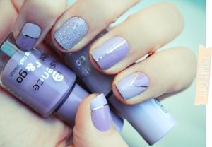 prom-nail-art-silver-strips